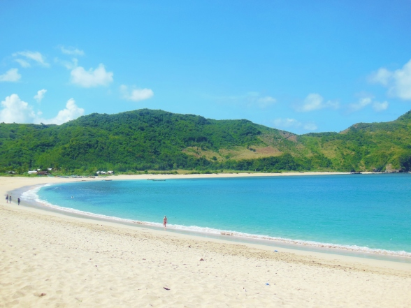 Mawun beach, Lombok
